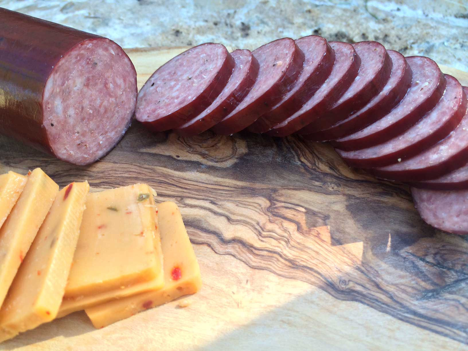Venison Summer Sausage Recipes For Smoker  Elk Hickory Smoked Summer Sausage