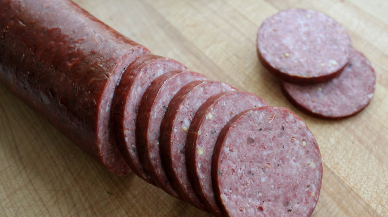 Venison Summer Sausage Recipes For Smoker  deer salami recipe smoked