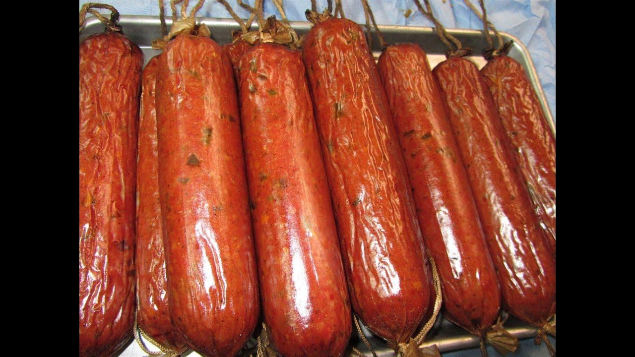 Venison Summer Sausage Recipes For Smoker  Homemade Smoked Venison Summer Sausage Recipes