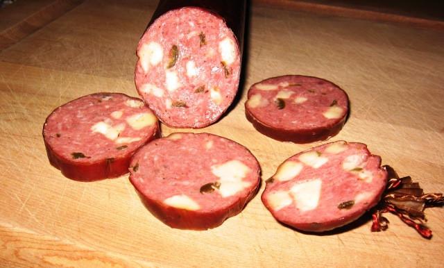 Venison Summer Sausage Recipes For Smoker  Jalapeno & Pepper Jack Cheese Venison Summer Sausage