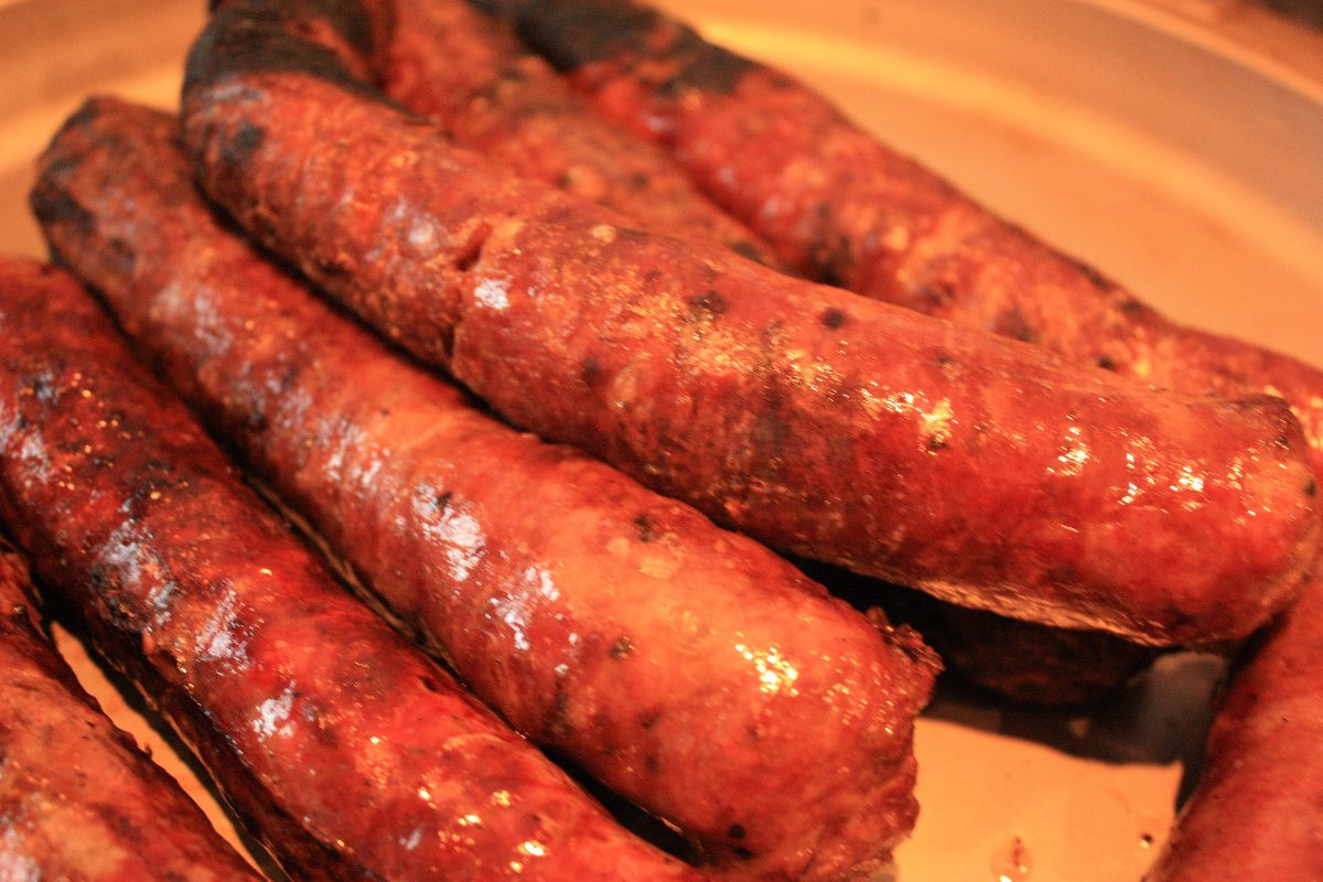 Venison Summer Sausage Recipes For Smoker  calories in venison smoked sausage