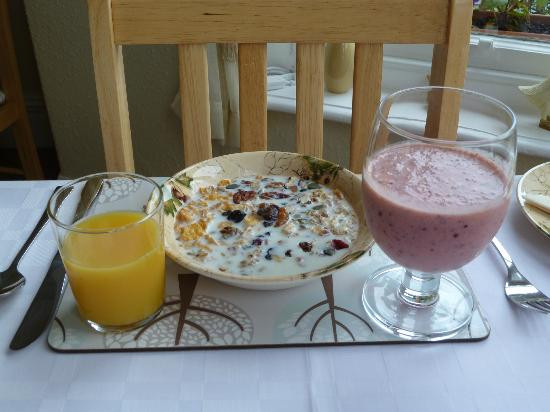 Very Healthy Breakfast  My very healthy breakfast Picture of Seven Oaks Guest