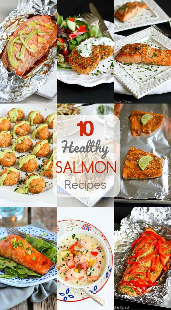 Very Healthy Dinners  10 Healthy Salmon Recipes Quick and Easy Dinner Ideas