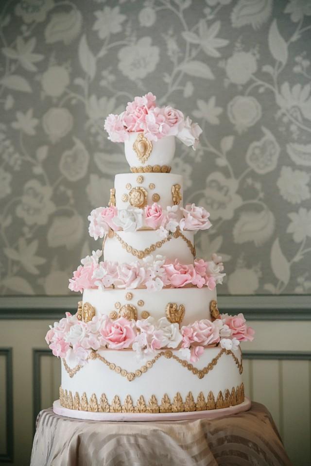 Vintage Style Wedding Cakes  Vintage Wedding Vintage Style Wedding Cake