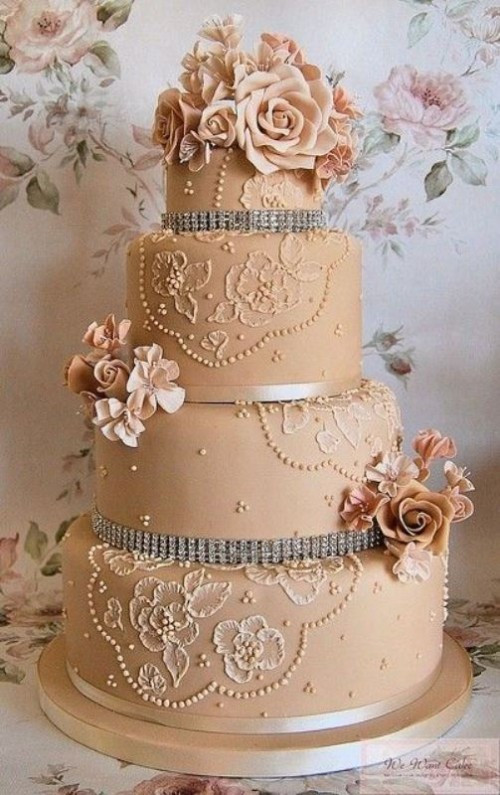 Vintage Style Wedding Cakes  30 Chic Vintage Style Wedding Cakes With An Old World Feel