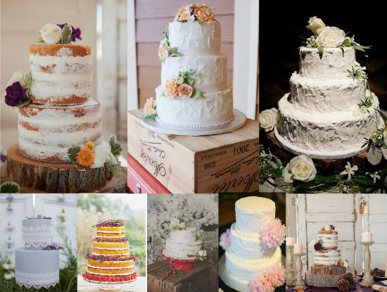 Vintage Style Wedding Cakes  Vintage Style Wedding Cakes Rustic Wedding Chic
