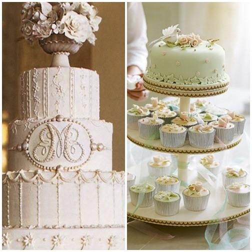 Vintage Wedding Cakes Ideas  Modern Wedding Cake Ideas 2012