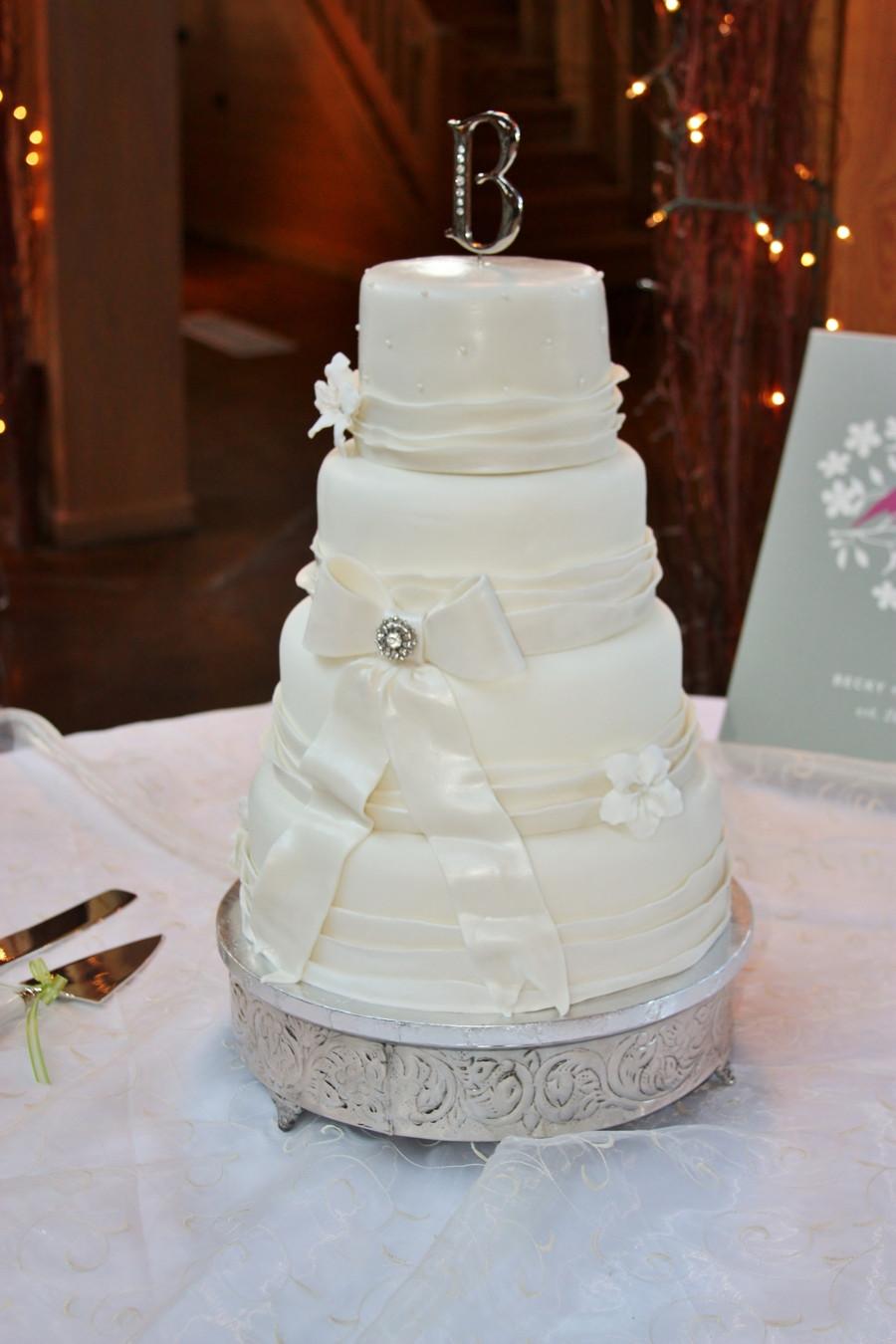Vintage Wedding Cakes Pictures  Simple Vintage Wedding Cake CakeCentral