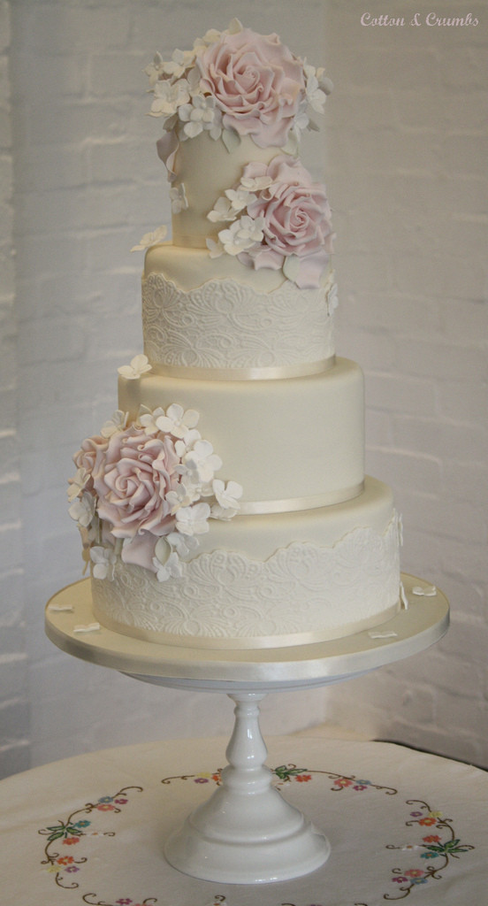 Vintage Wedding Cakes  Vintage wedding cake