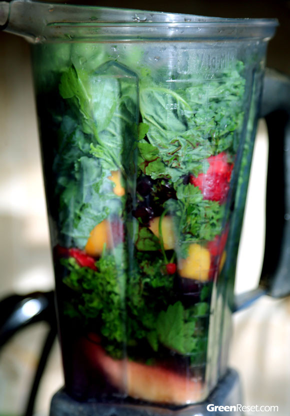 Vitamix Healthy Smoothie Recipes  In 2013 Reset Your Health With Green Drinks