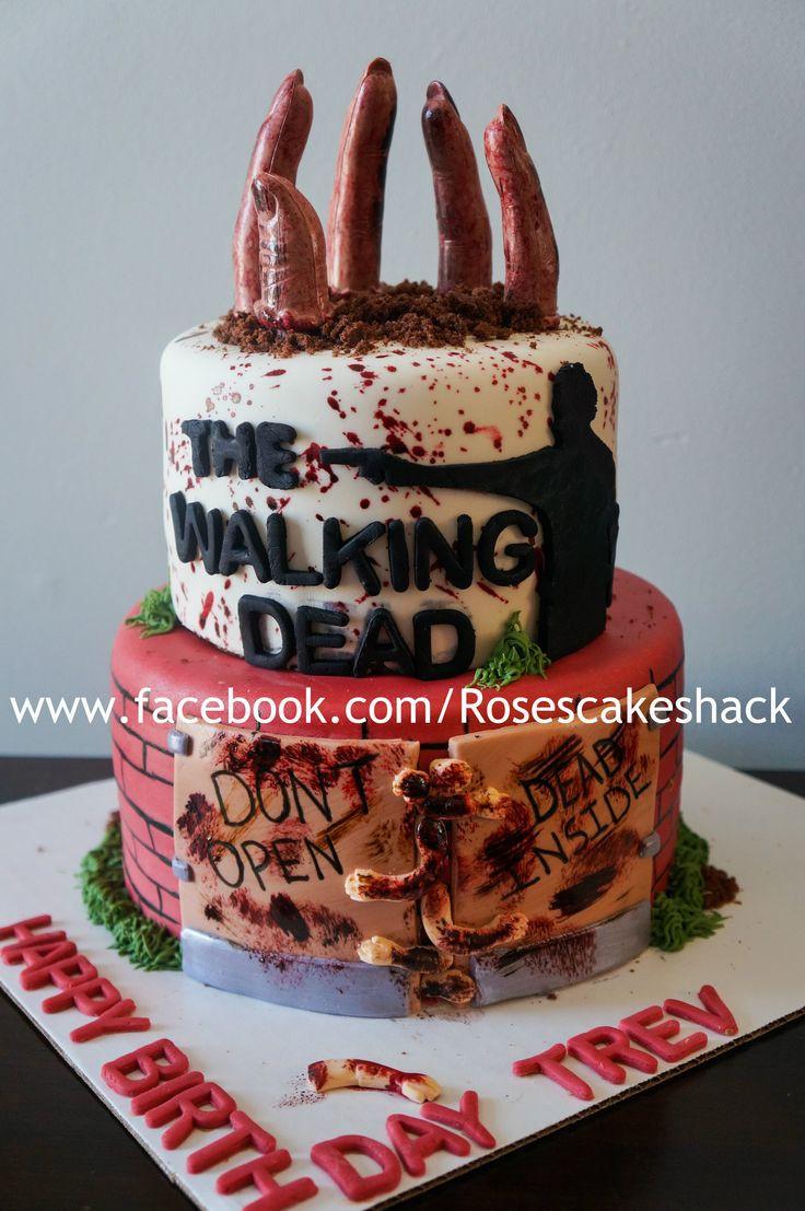 Walking Dead Wedding Cakes  Best 25 Walking Dead Cake ideas on Pinterest