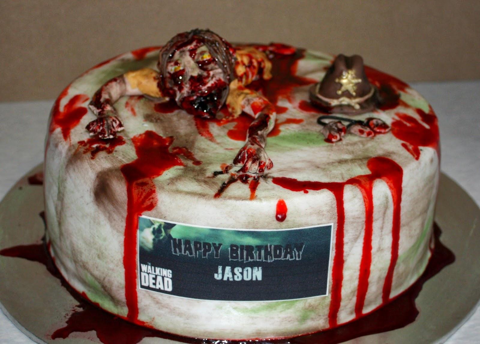 Walking Dead Wedding Cakes  Fandom Friday Awesome Walking Dead Cakes