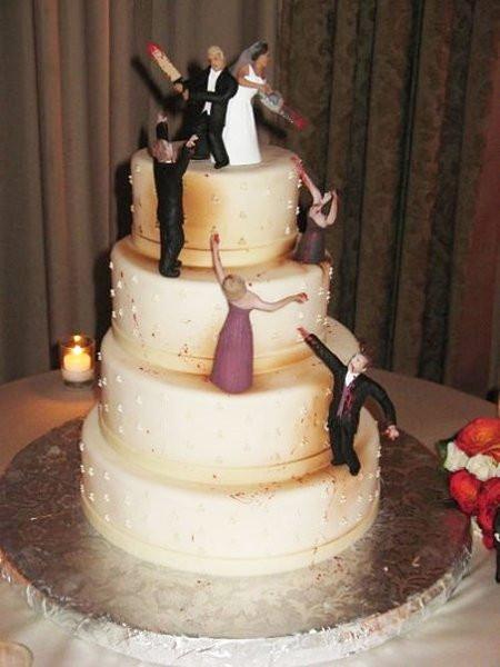 Walking Dead Wedding Cakes  Top 27 des gateaux de mariage insolites et originaux