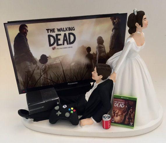 Walking Dead Wedding Cakes  1000 ideas about Xbox Wedding on Pinterest