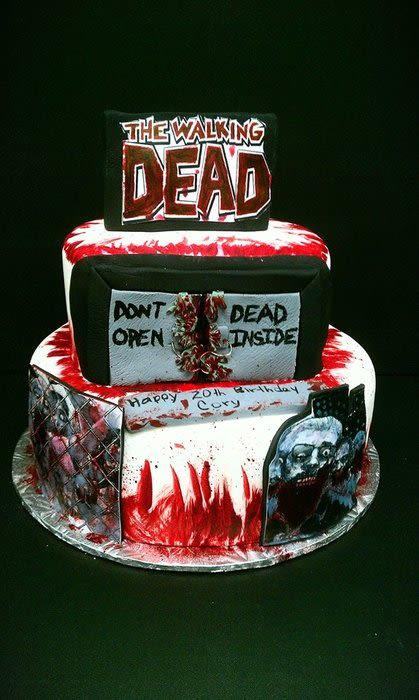 Walking Dead Wedding Cakes  Walking Dead Cake Cake by Mariela CakesDecor