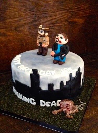 Walking Dead Wedding Cakes  Sweet T s Cake Design Walking Dead Birthday Cake
