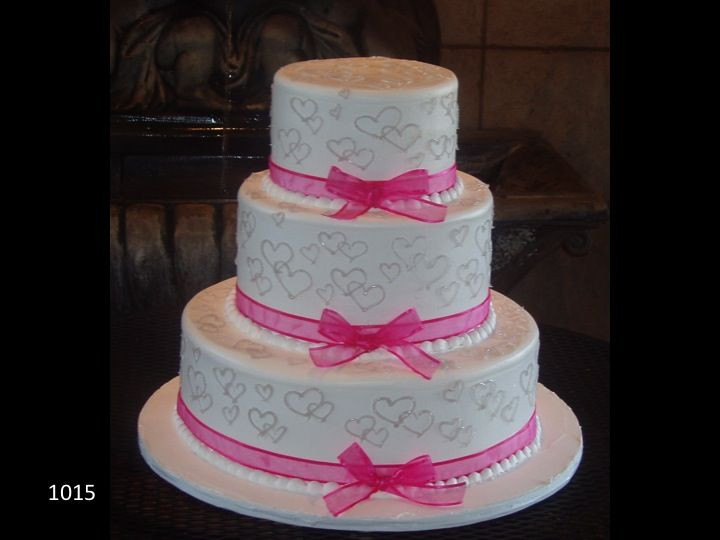 Walmart 3 Tier Wedding Cakes  17 Best images about 3 Tiered Wedding Cakes on Pinterest