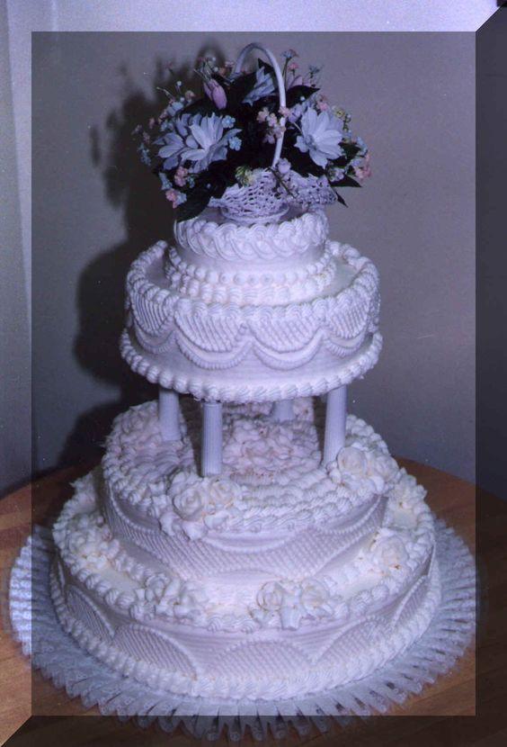 Walmart 3 Tier Wedding Cakes  Wedding cake prices Wedding cakes and Lattices on Pinterest
