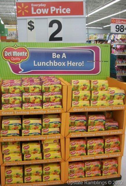Walmart Healthy Snacks  11 best Walmart Displays images on Pinterest