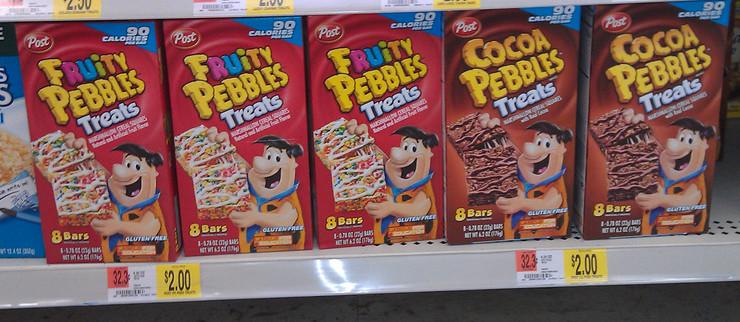 Walmart Healthy Snacks  Great Snack Idea Pebbles Treats ly $1 50 at Walmart