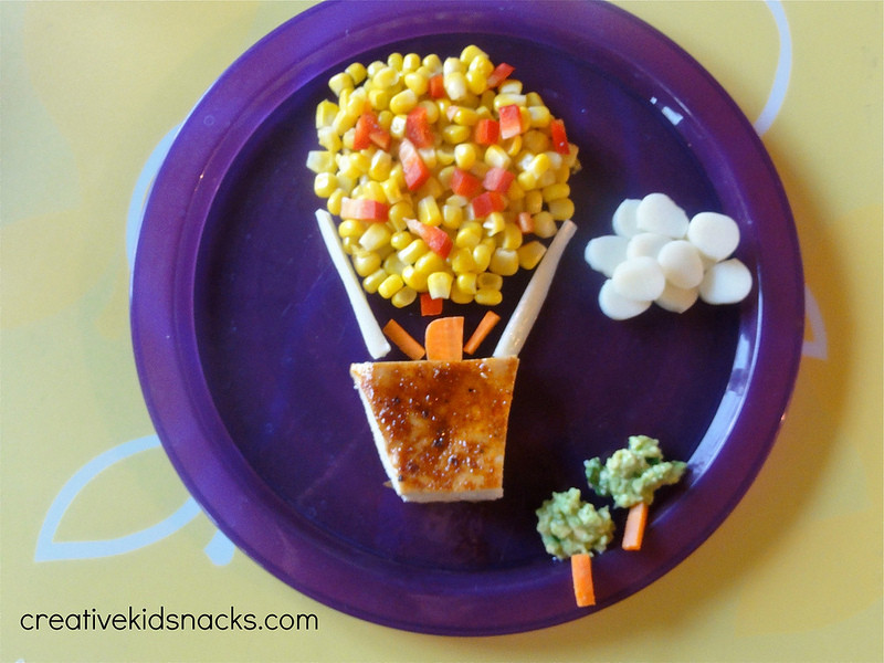 Warm Healthy Snacks  Healthy and Creative Kids Dinner Hot Air Balloon Ride