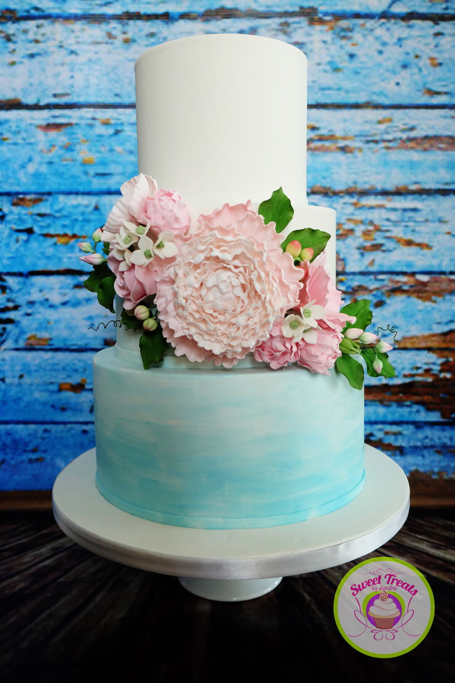 Watercolor Wedding Cakes  Watercolor Wedding Cake CakeCentral
