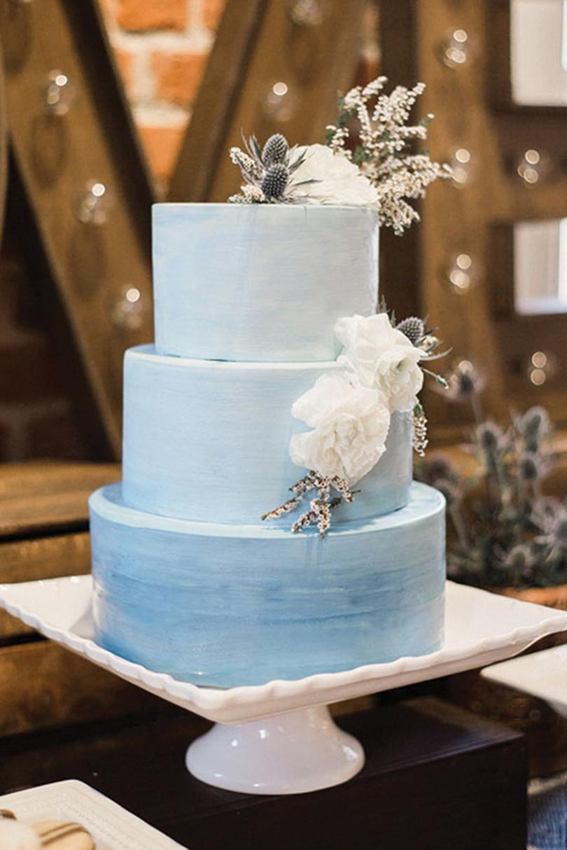 Watercolor Wedding Cakes  Watercolor Wedding Cakes Might Be the Next Big Wedding