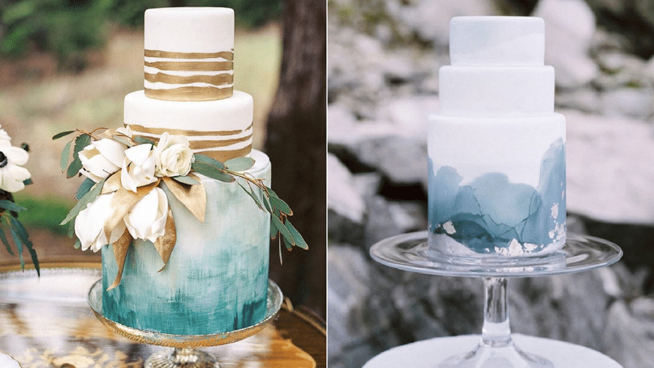 Watercolor Wedding Cakes  The 12 Watercolor Wedding Cakes Perfect for Your Wedding