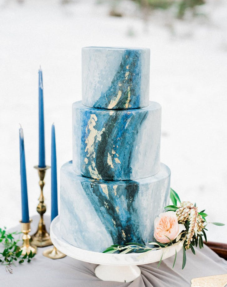 Watercolor Wedding Cakes  Watercolor Wedding Cake Ideas PureWow