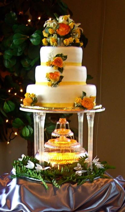 Waterfalls Wedding Cakes  Waterfall Wedding Cake My Tucson Wedding