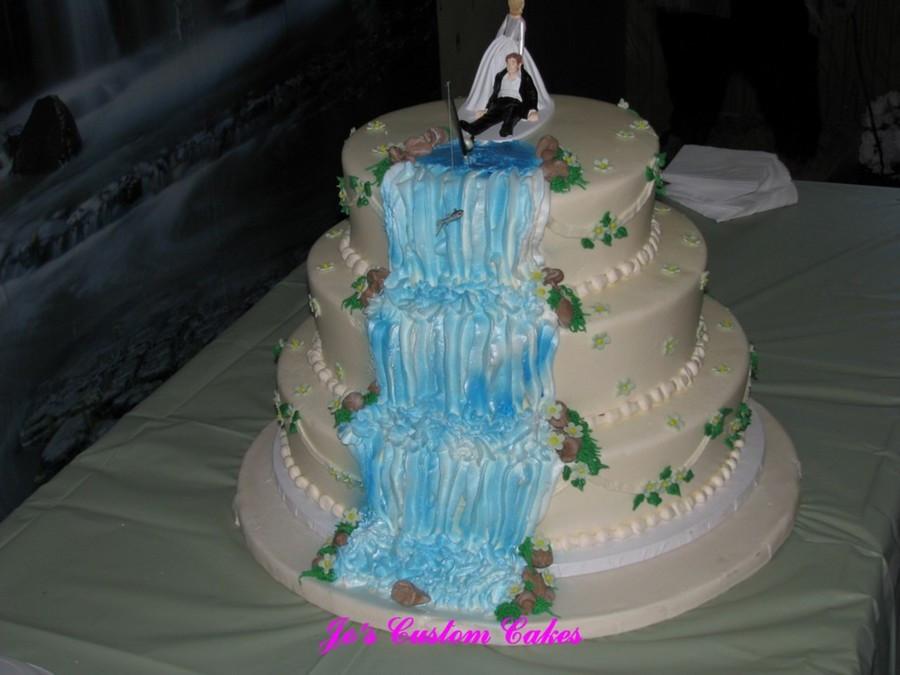 Waterfalls Wedding Cakes  Waterfall Wedding CakeCentral