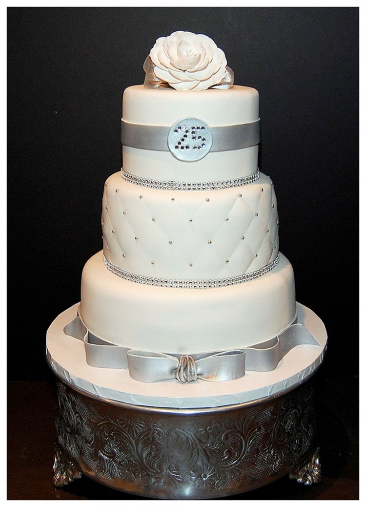 Wedding Anniversary Cakes Images  25th Wedding Anniversary Cake Wedding Cake Cake
