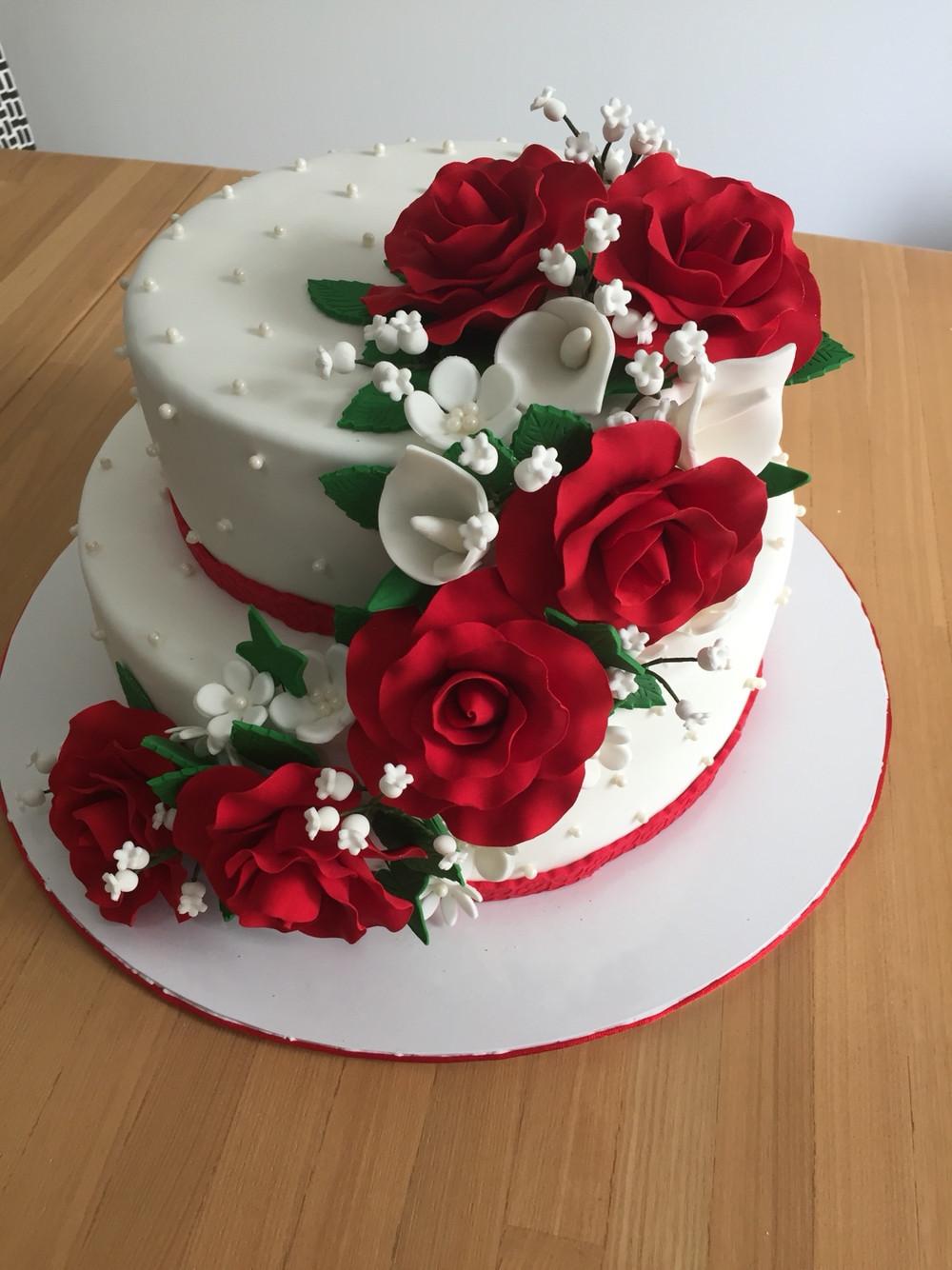 Wedding Anniversary Cakes Images  Wedding Cake Anniversary Cakes Happy Marriage