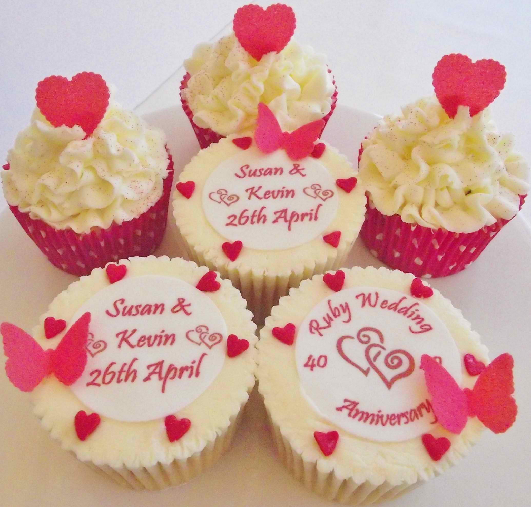 Wedding Anniversary Cupcakes Ideas  30 Amazing Anniversary Cupcakes