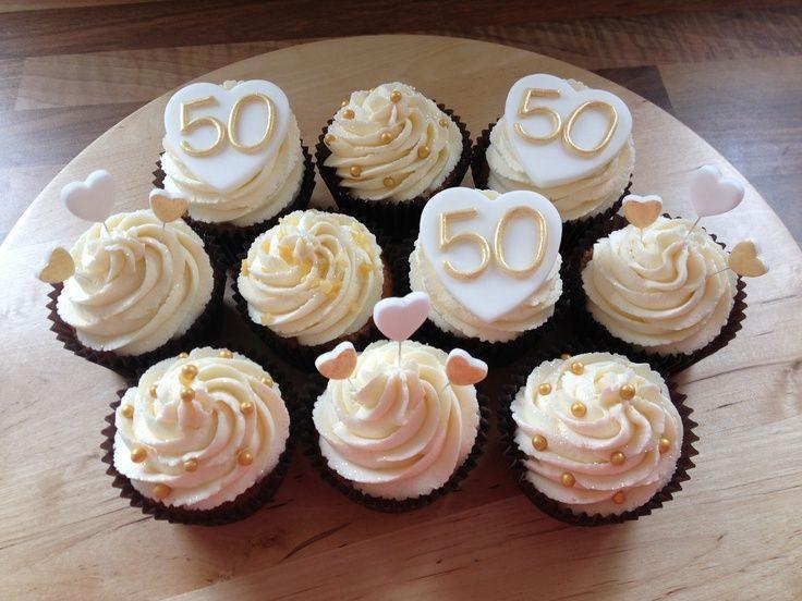 Wedding Anniversary Cupcakes Ideas  50th Wedding Anniversary Cakes