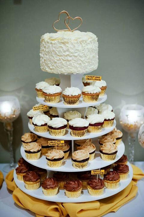 Wedding Anniversary Cupcakes Ideas  34 best Mom & Dad s 50th Anniversary theme ideas images on