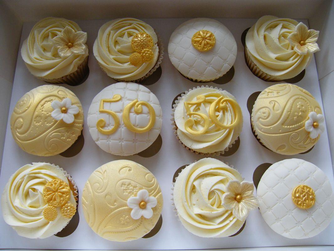 Wedding Anniversary Cupcakes Ideas  Anniversary Cupcakes on Pinterest