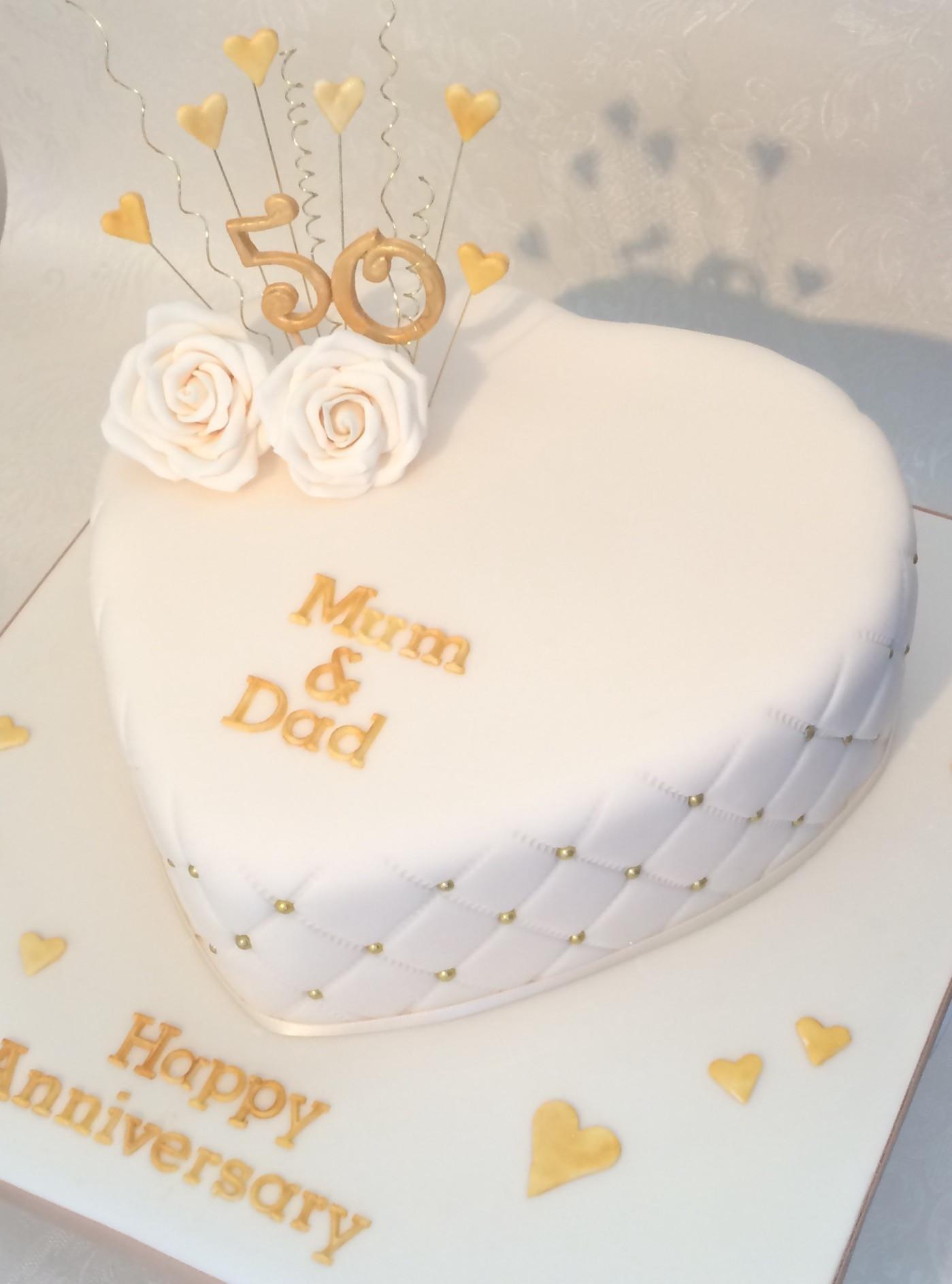 Wedding Birthday Cake  Anniversary