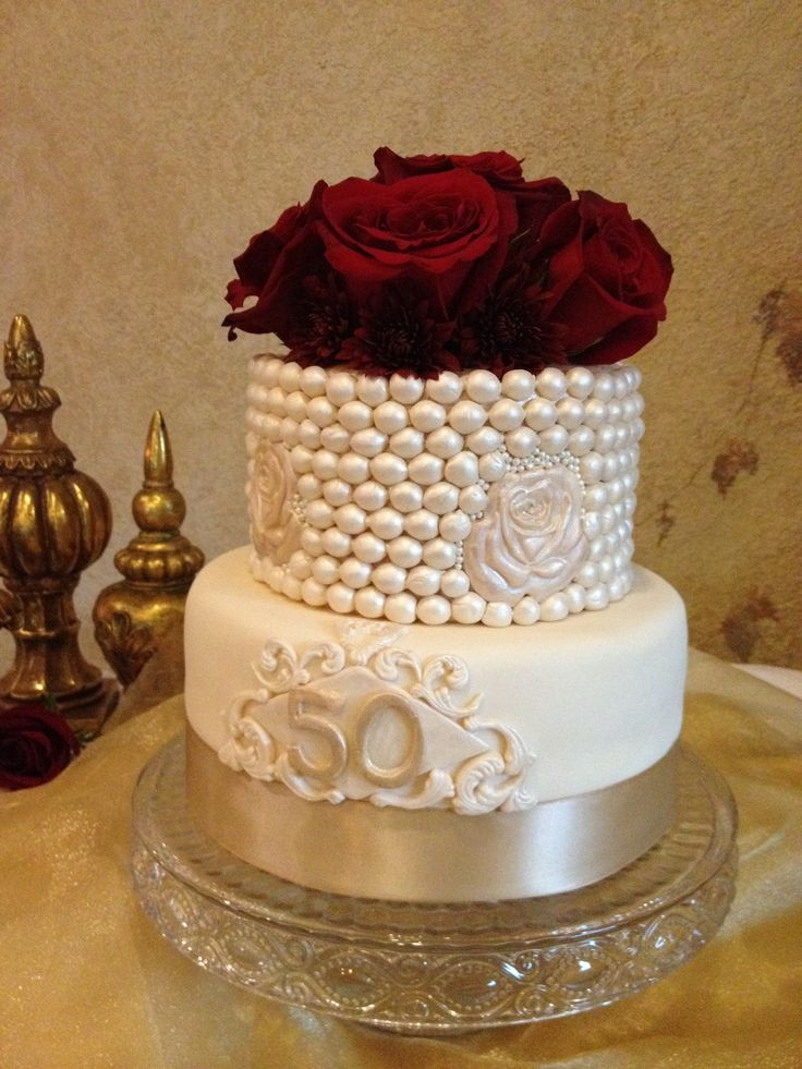 Wedding Birthday Cake  146 best images about 50th wedding anniversary cake on
