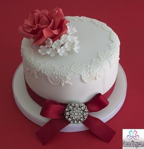 Wedding Birthday Cake  20 Romantic cake designs for wedding anniversary