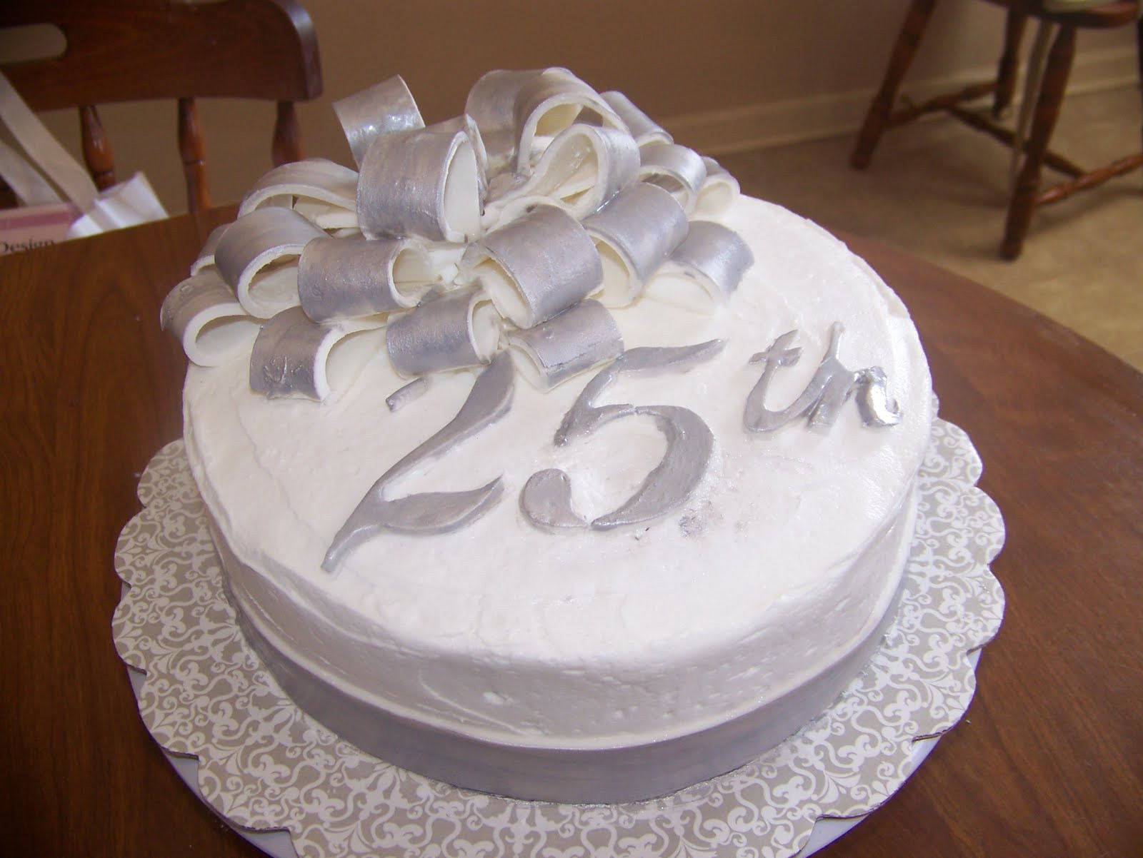 Wedding Birthday Cake  How to Throw a Memorable 25th Wedding Anniversary Party