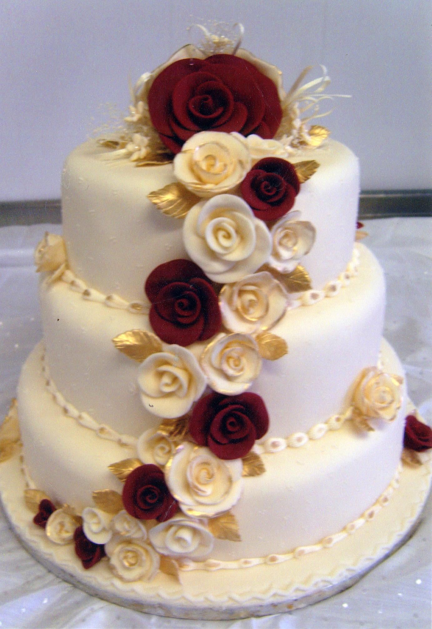 Wedding Birthday Cake  decoratedcakes