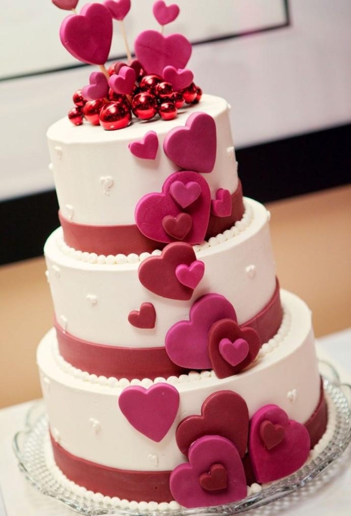 Wedding Birthday Cakes  Best wedding anniversary cakes idea in 2017