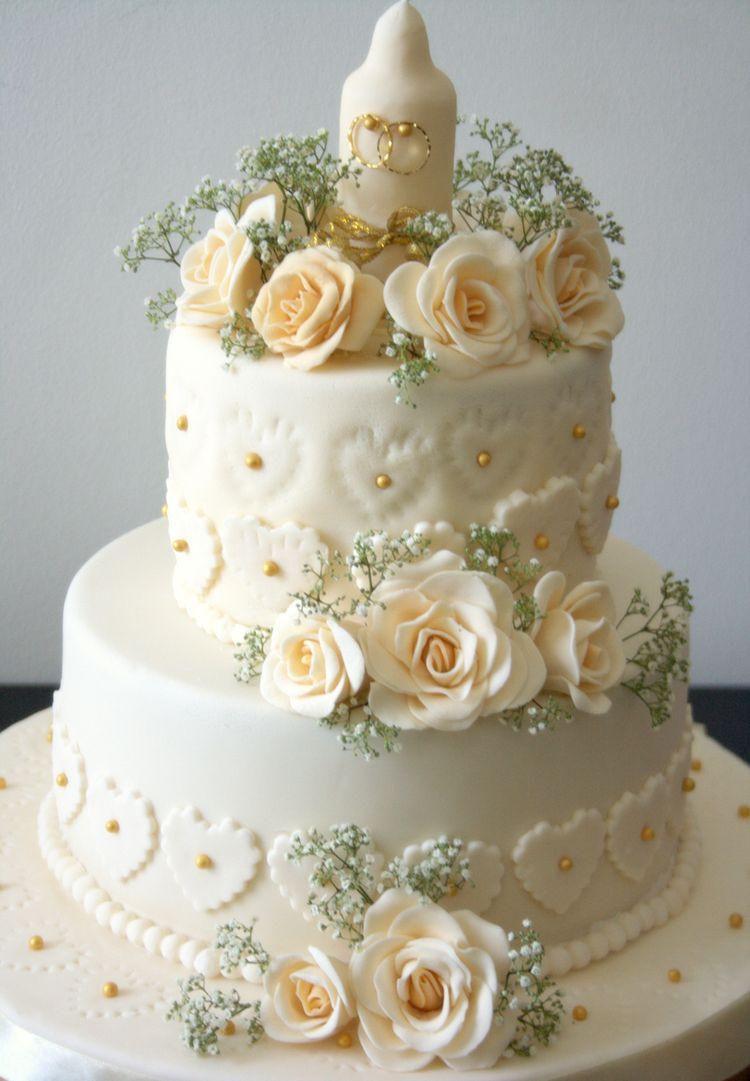 Wedding Birthday Cakes  Wedding anniversary cake