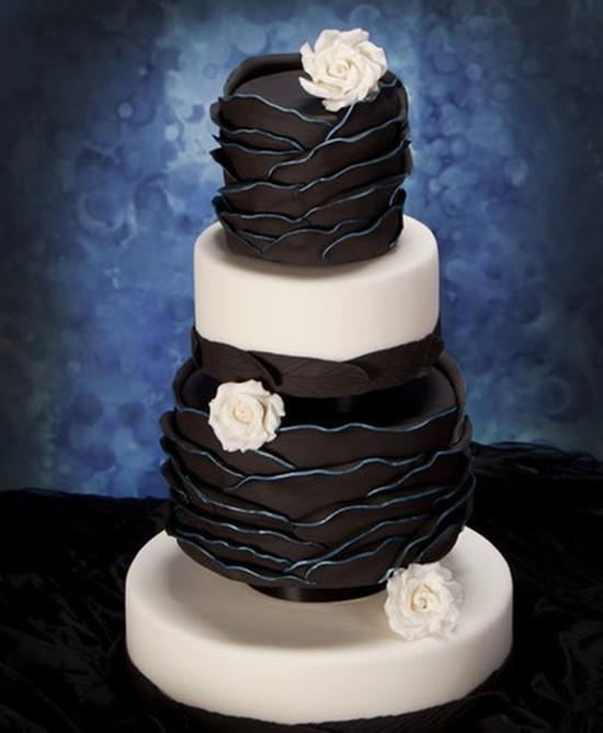 Wedding Cake Black And White  Special WednesdayUnique Wedding Cakes For You
