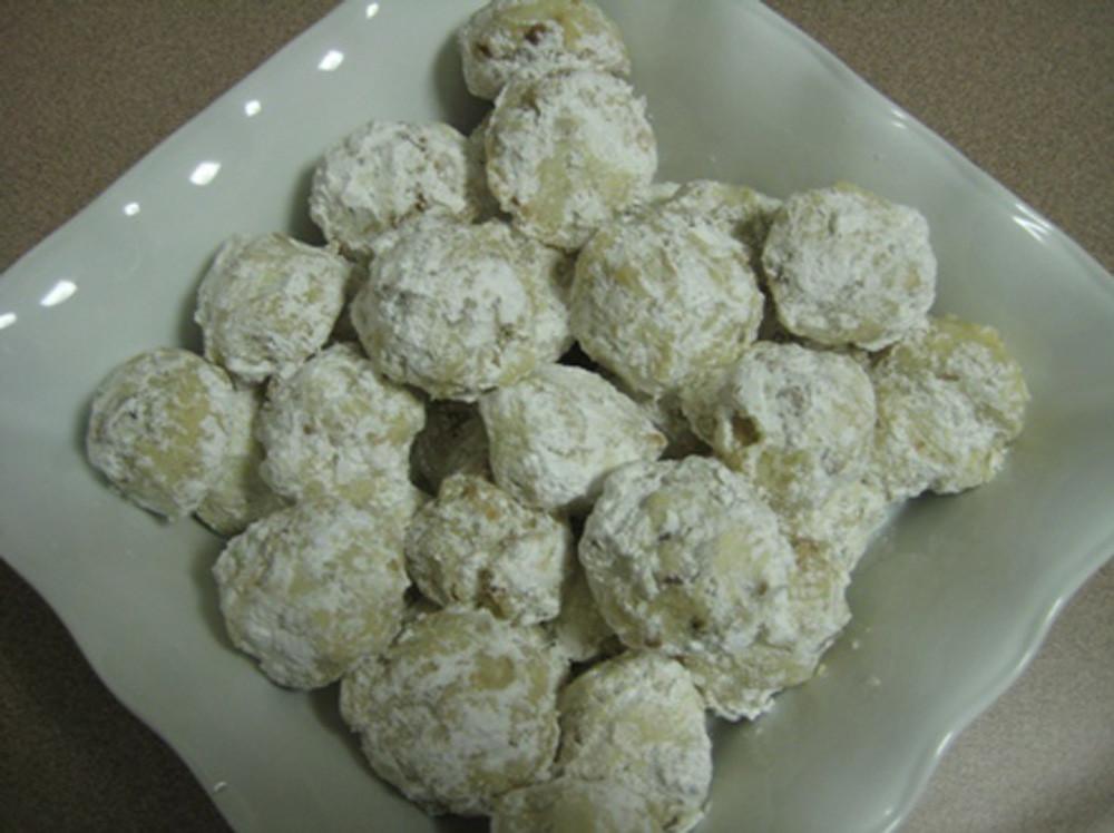 Wedding Cake Cookies Recipe  Mexican Wedding Cake Cookies