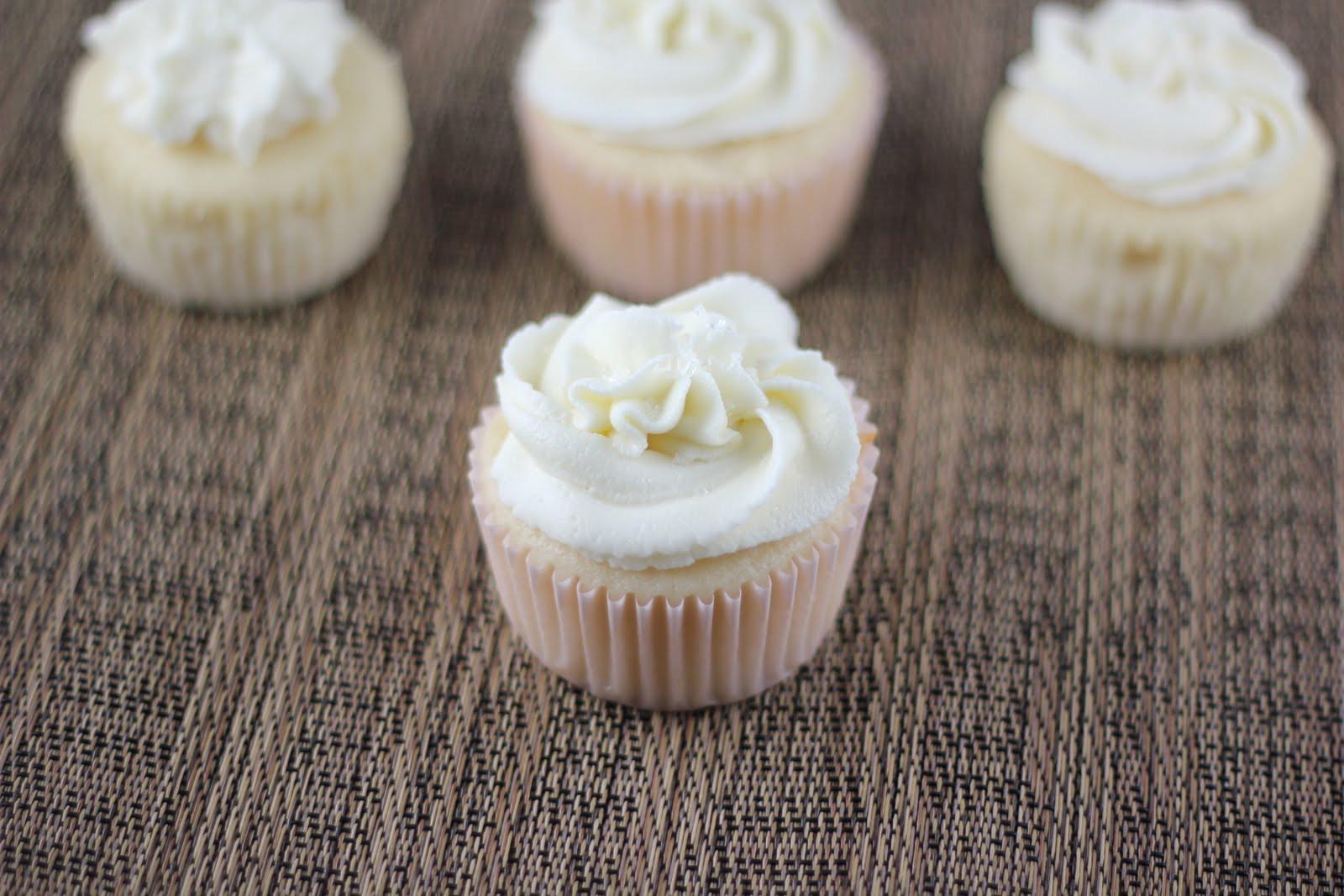 Wedding Cake Cupcake Recipe  White Wedding Cake Cupcakes A Zesty Bite
