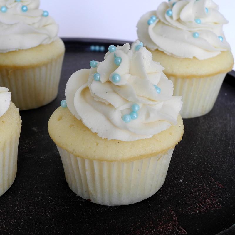 Wedding Cake Cupcake Recipe  From Calculu∫ to Cupcake∫ Vanilla Bean Wedding Cupcakes