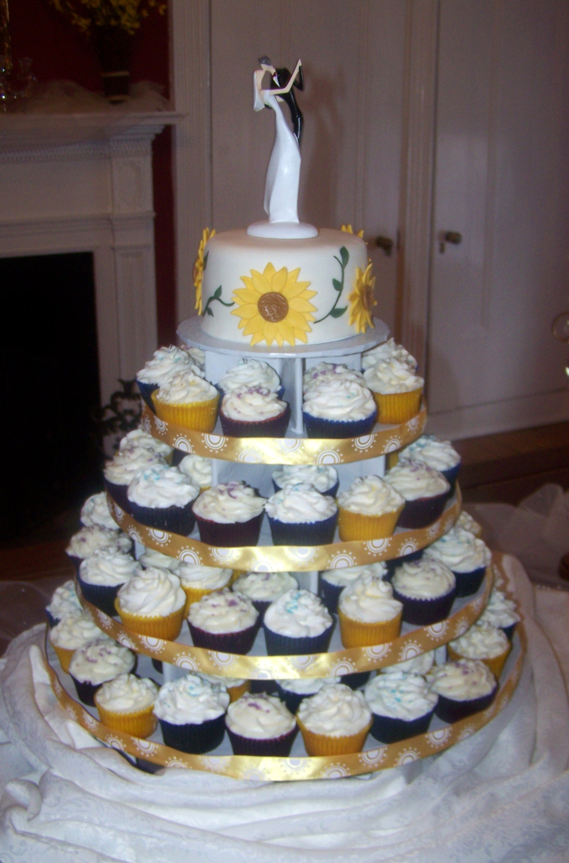 Wedding Cake Cupcakes  Wedding Cakes & Groom's Cakes Beth Ann s