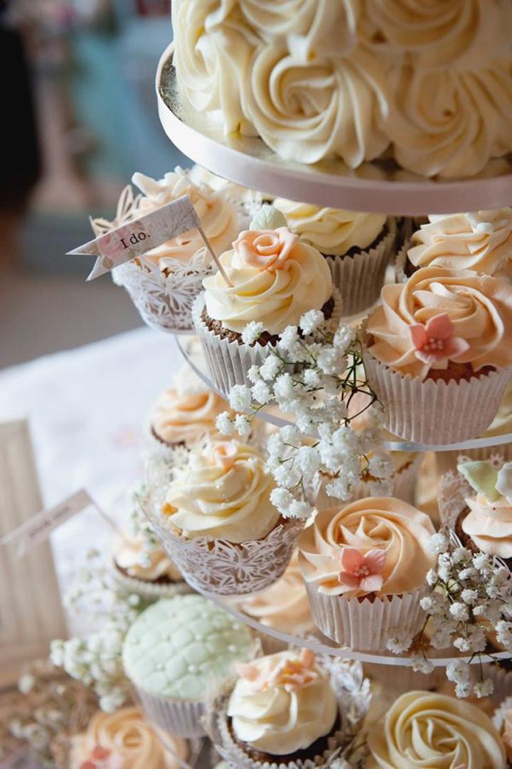 Wedding Cake Cupcakes  Cupcake Wedding Cakes Mon Cheri Bridals